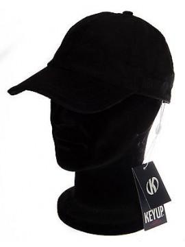Cappello berretto visiera baseball KEY-UP art. 286BA taglia UNICA col. 0002 NERO