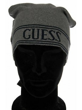 Cappello cuffia berretto hat GUESS a.M34Z01 taglia S/M c.M92 GRIGIO GREY