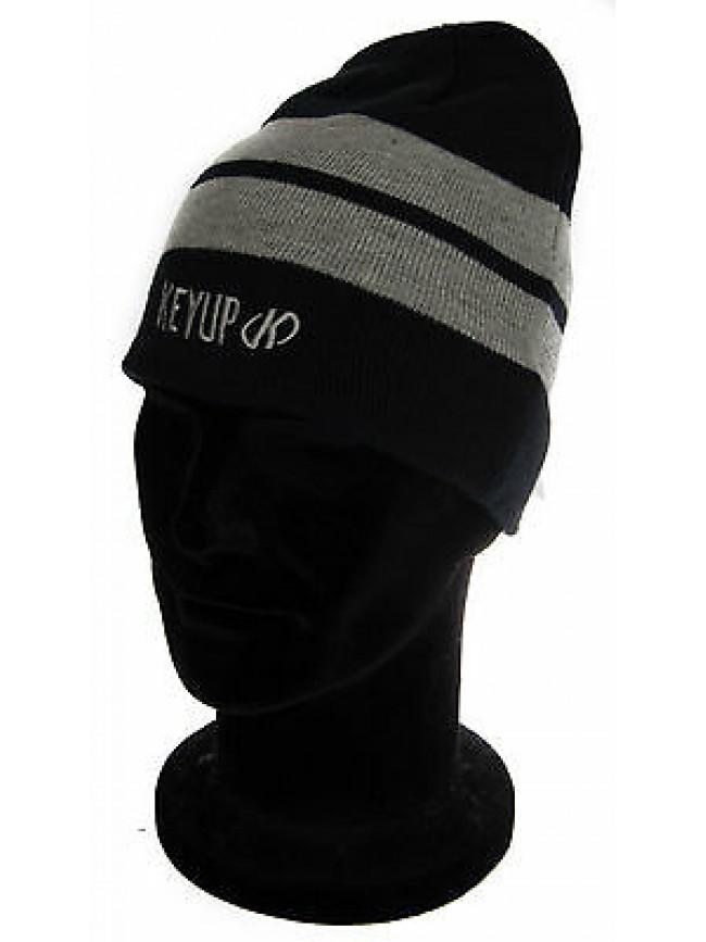 Cappello cuffia berretto hat KEY-UP a. 294CU taglia UNICA colore 0262 BLU GRIGIO
