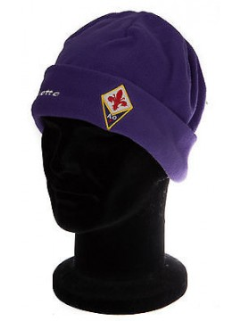 Cappello cuffia berretto pile LOTTO a. N0803 taglia UNICA col. VIOLA FIORENTINA