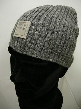 Cappello cuffia berretto unisex hat ENRICO COVERI a.MC1081C c.35 antracite Italy