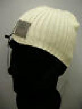Cappello cuffia berretto unisex hat ENRICO COVERI a.MC1081C c.37 panna Italy