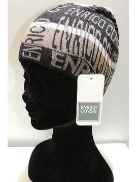 Cappello cuffia berretto unisex hat ENRICO COVERI a.MC1318C col.nero black Italy