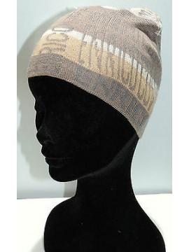Cappello cuffia berretto unisex hat ENRICO COVERI a.MC1318C col.tortora Italy