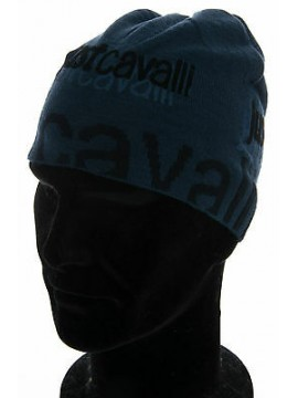 Cappello cuffia hat JUST CAVALLI articolo F8900 taglia M colore 2767 BLU