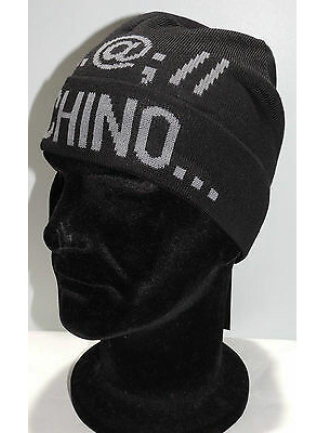fab11316ba Cappello cuffia hat MOSCHINO art.01239 T.unica col.002 nero Italy