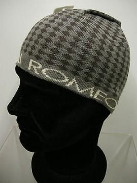 Cappello cuffia unisex hat ROMEO GIGLI art.MC1405G col.1 grigio/marrone Italy