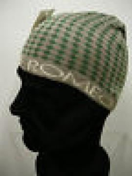 Cappello cuffia unisex hat ROMEO GIGLI art.MC1405G col.2 grigio/verde  Italy