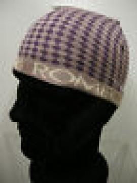 Cappello cuffia unisex hat ROMEO GIGLI art.MC1405G col.3 grigio/viola Italy