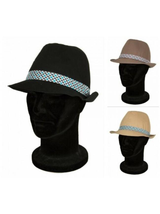 Cappello uomo stile Borsalino MOSCHINO articolo 01135