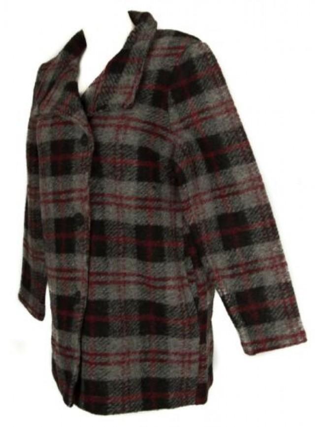 Cappotto corto con bottoni giacca donna lana cotta RAGNO articolo 70782W CAPPOTT