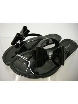 Ciabatta fiocco donna gomma slippers woman art.FN7D63 T.XL 41 / 42 col.U999 nero