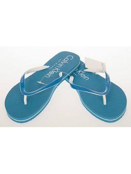 Ciabatta infradito donna CALVIN KLEIN a.59983Z4 T.L 39-40 c.524 BLUE beachwear