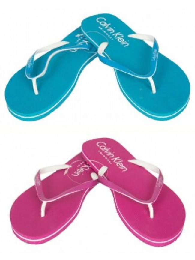 Ciabatta infradito donna mare o piscina beachwear CK CALVIN KLEIN articolo 59983