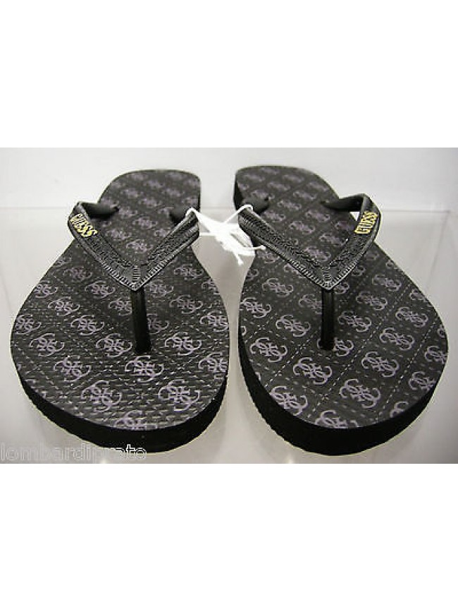 Ciabatta infradito donna slippers woman GUESS FM7D63 RUB50 T.S 35/36 c.U999 nero
