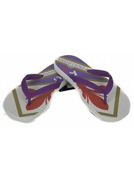 Ciabatta infradito mare uomo LOTTO art. N1690 taglia 46 colore WHT05 Fiorentina