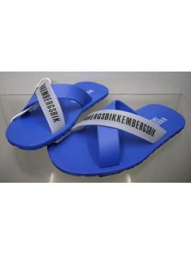 Ciabatta mare bimbo slippers boy BIKKEMBERGS a.SA68 W70 T.28 col.3300 azzurro