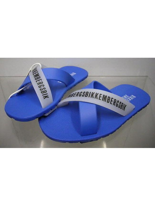 Ciabatta mare bimbo slippers boy BIKKEMBERGS a.SA68 W70 T.32 col.3300 azzurro