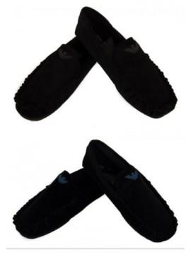 Ciabatte pantofole mocassino uomo EMPORIO ARMANI articolo 111400 6A577 SLIPPERS