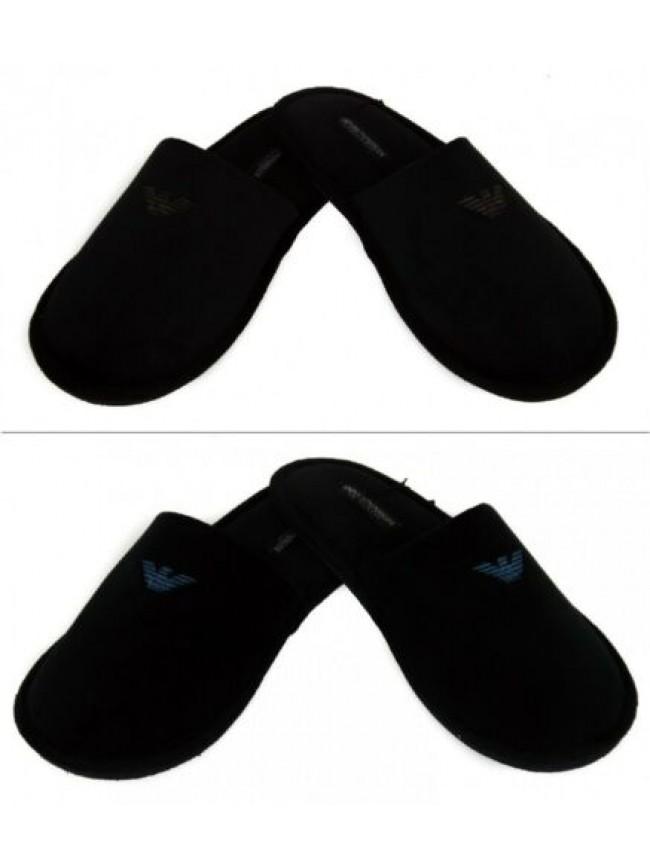 Ciabatte pantofole uomo EMPORIO ARMANI articolo 111377 6A577 SLIPPERS