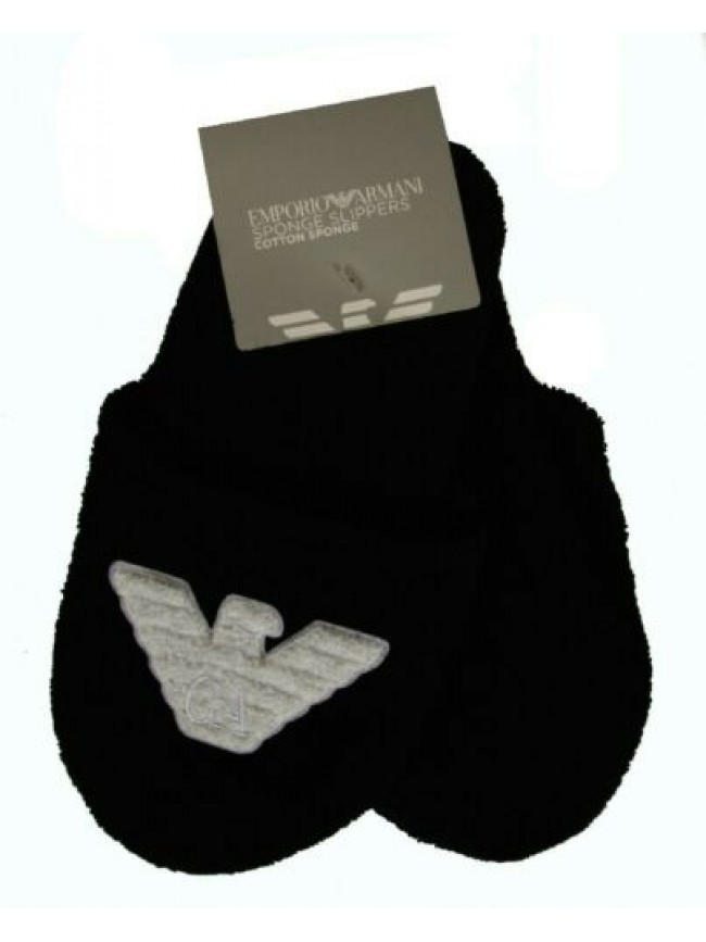 Ciabatte pantofole uomo spugna sponge slippers homewear EMPORIO ARMANI articolo