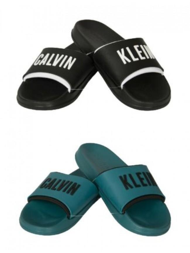 Ciabatte uomo mare o piscina CK CALVIN KLEIN articolo KM0KM00633 SLIDE
