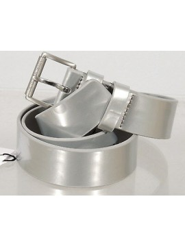 Cintura donna belt CK CALVIN KLEIN JEANS a.J6EJ600111 taglia 95 col.483 silver