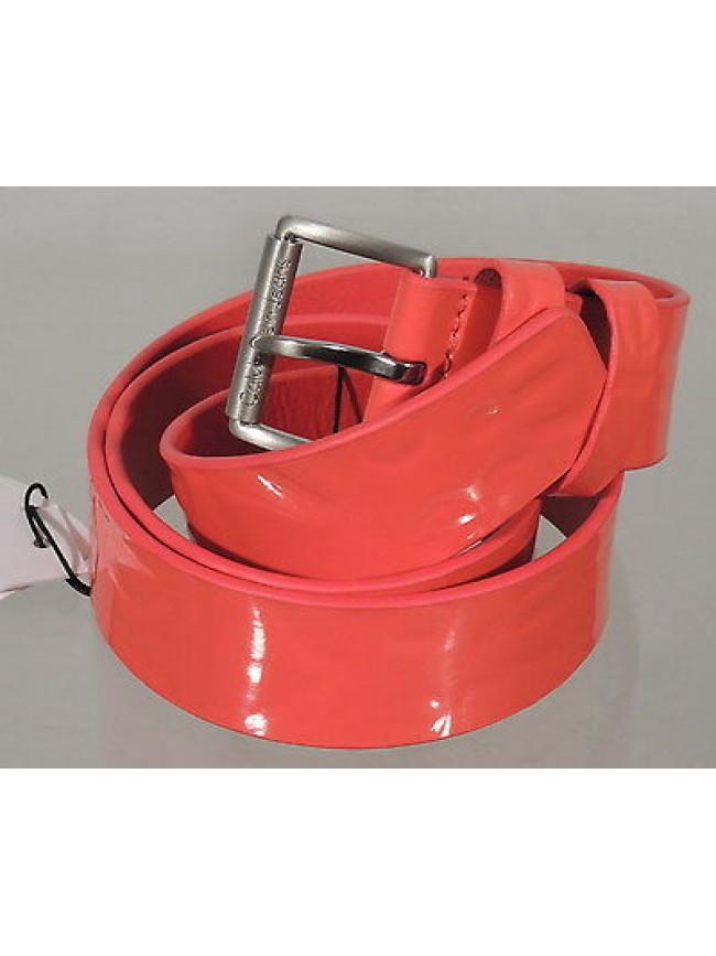 Cintura donna belt CK CALVIN KLEIN JEANS art.J6EJ600111 taglia 95 col.630 coral