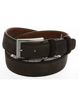 Cintura pelle CK CALVIN KLEIN JEANS a.J5EJ500336 T.115 c.643 red brown