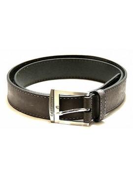 Cintura pelle belt leather CK CALVIN KLEIN JEANS a.C722DF taglia 100 c.999 nero
