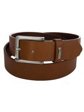 Cintura pelle uomo CK CALVIN KLEIN JEANS K50K500744 taglia 115 c.223 COGNAC