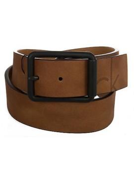 Cintura pelle uomo CK CALVIN KLEIN JEANS K50K500965 taglia 85 c.223 COGNAC