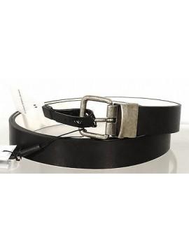 Cintura pelle uomo reverse CK CALVIN KLEIN JEANS a.J5IJ500135 t.100 col.990 nero