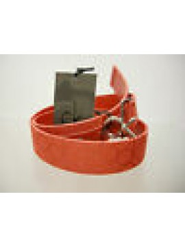 Cintura unisex belt CK CALVIN KLEIN art.KW22AL taglia 100 colore 545 ROSSO