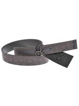 Cintura unisex belt CK CALVIN KLEIN art.KW22AL taglia 85 colore 922 GRIGIO SCURO