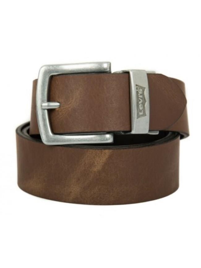Cintura uomo in pelle reversibile LEVI'S articolo 221063 reverse batwing leather