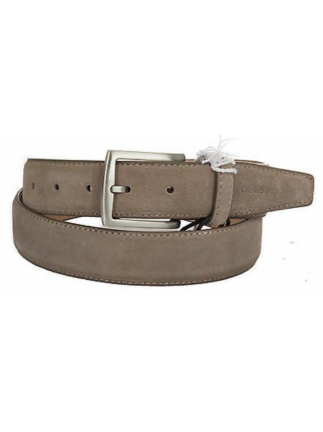 Cintura uomo pelle belt GUESS art.BM5005 taglia XL/115 colore GRIGIO GREY