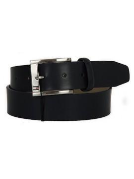 Cintura uomo pelle belt TOMMY HILFIGER a. AM0AM01666 taglia 90 c. 001 MIDNIGHT