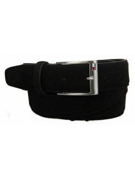 Cintura uomo pelle belt TOMMY HILFIGER art. AM0AM01305 taglia 115 col. 002 NERO
