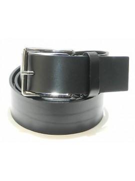 Cintura uomo pelle belt man DIRK BIKKEMBERGS a.DBCTA024 T.105 c.nero black Italy