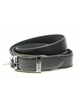Cintura uomo pelle belt man GUESS art.BM0400 taglia XL/120 col.nero black Italy