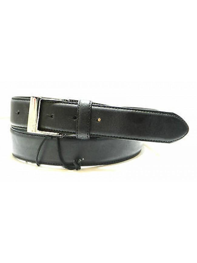 Cintura uomo pelle belt man GUESS art.BM0401 taglia L/110 col.nero black Italy