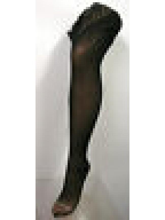 Collant calza aperta donna woman open ARWA a.PT2 argento T.3 col.013 nero black