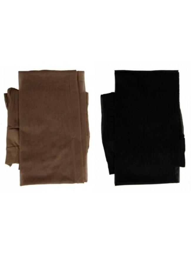 Collant calze donna 30 den 33 dtex setificato opaco compressione differenziata L