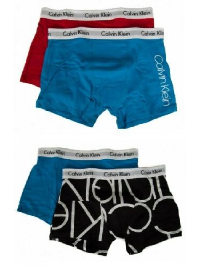 Confezione 2 boxer bimbo maschio ragazzo junior CK CALVIN KLEIN B70B700199 2PK T