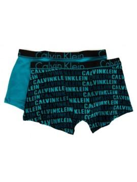 Confezione 2 boxer bimbo maschio ragazzo junior CK CALVIN KLEIN articolo B70B700