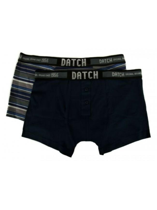 Confezione 2 boxer parigamba uomo bipack underwear DATCH articolo DM0097