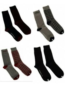 Confezione 2 paia calze corte uomo EMPORIO ARMANI articolo 302302 6A284