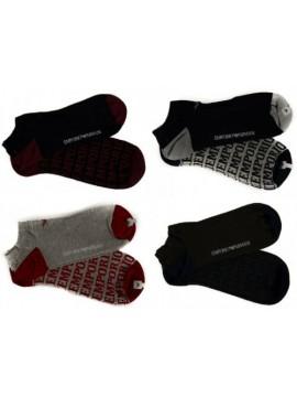 Confezione 2 paia calze girocaviglia uomo EMPORIO ARMANI articolo 302228 6A284