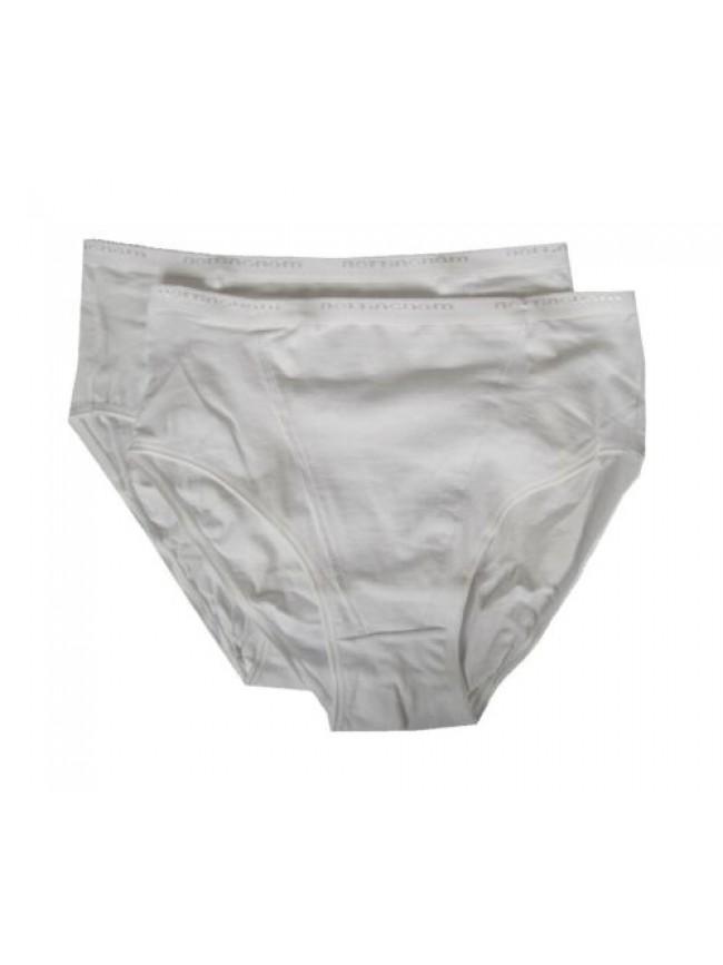Confezione 2 slip donna contenitive cotone elasticizzato bipack NOTTINGHAM artic